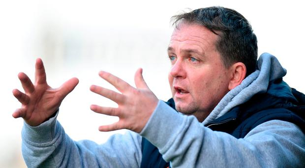 Wexford manager Davy Fitzgerald during the Allianz Hurling League Division 1A Round 2 match between Wexford and Cork at Innovate Wexford Park, in Wexford. Photo by Matt Browne/Sportsfile