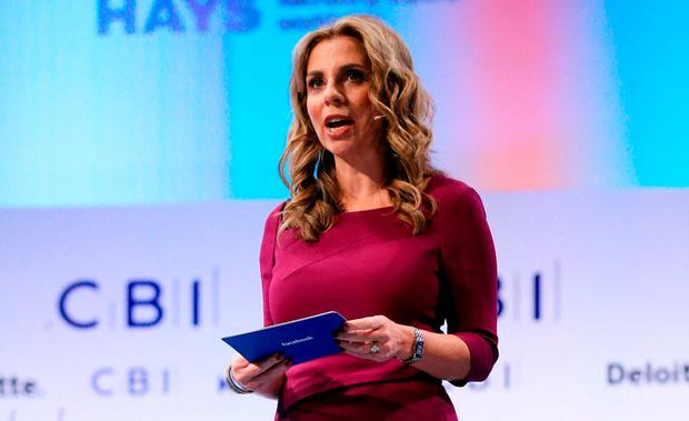 Facebook's Europe vice president Nicola Mendelsohn, who has non-Hodgkins lymphoma. Photo: PA
