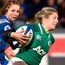 Ireland centre Alison Miller on the charge against France in Toulouse. Photo: Getty Images