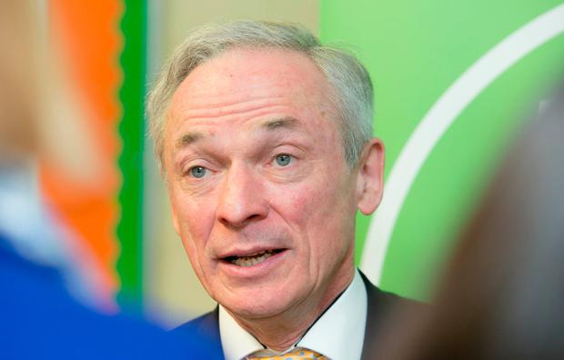 Support for schools: Education Minister Richard Bruton. Photo: Gareth Chaney, Collins