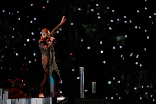 Justin Timberlake performs during halftime of the NFL Super Bowl 52 football game between the Philadelphia Eagles and the New England Patriots, Sunday, Feb. 4, 2018, in Minneapolis. (AP Photo/Tony Gutierrez)