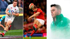 Sam Simmonds, Leigh Halfpenny and James Ryan were among the top performers