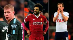 Kevin de Bruyne, Mo Salah and Harry Kane have been incredible this season