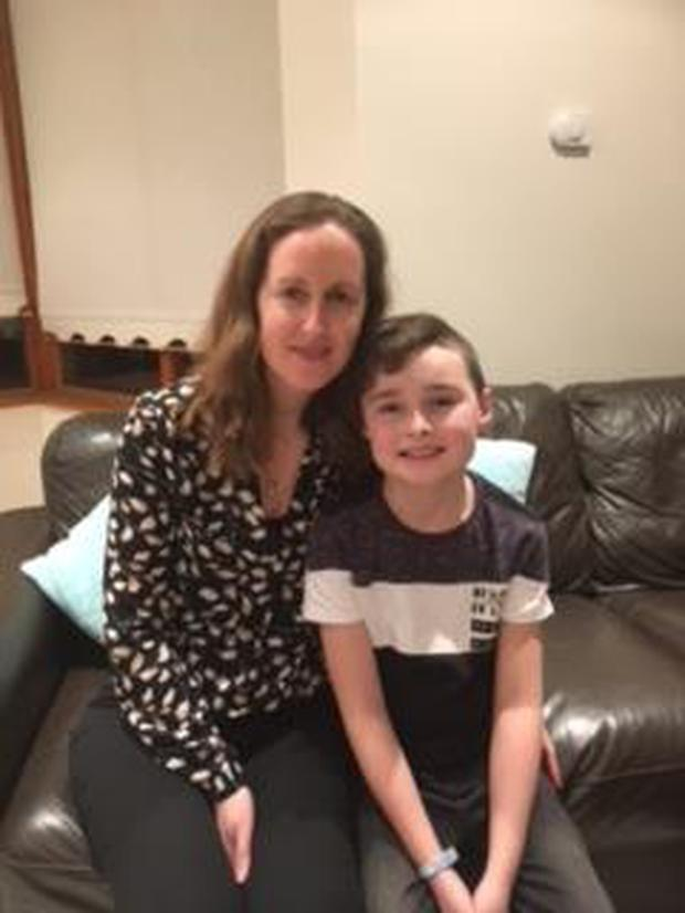 Deirdre Kelly and her son Sean