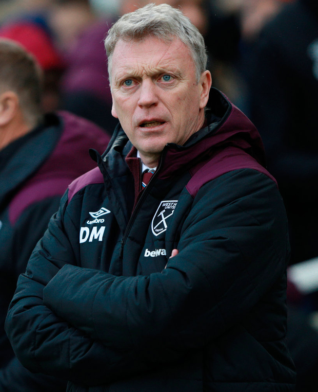 Moyes: Unlikely to stay Photo: REUTERS/Ian Walton