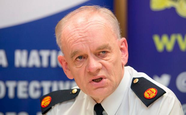 Assistant Commissioner John O'Driscoll outlines the success of Operation Ketch. Photo: Gareth Chaney Collins