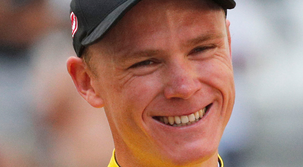 Chris Froome. Photo: AP