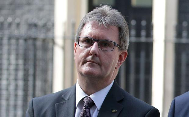 DUP MP Jeffrey Donaldson. Photo: AFP/Getty Images