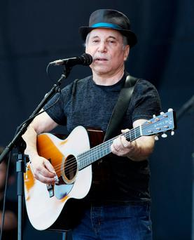 Paul Simon performing at the Glastonbury festival in England in 2011. Photo: Dave Hogan/Getty Images