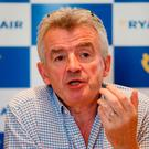 Ryanair chief executive Michael O'Leary. Photo: PA