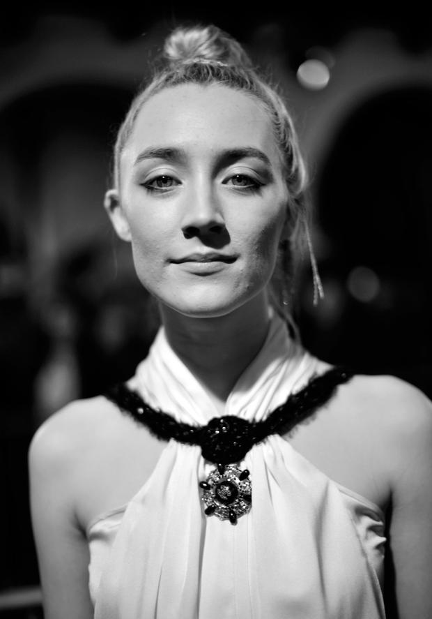 Saoirse Ronan at the Santa Barbara Award Honoring Saoirse Ronan Presented By UGG during The 33rd Santa Barbara International Film Festival at Arlington Theatre on February 4, 2018 in Santa Barbara, California. (Photo by Matt Winkelmeyer/Getty Images for SBIFF)