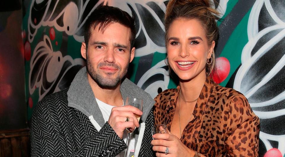 Vogue Williams and Spencer Matthews in R.I.O.T in Aston Quay Dublin. Photo: Brian McEvoy