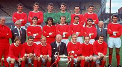 Manchester United's European Cup winners were historically great. Getty