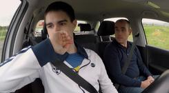 Kevin Geoghegan Moore (22) from Dublin on How's Your Driving, RTE One