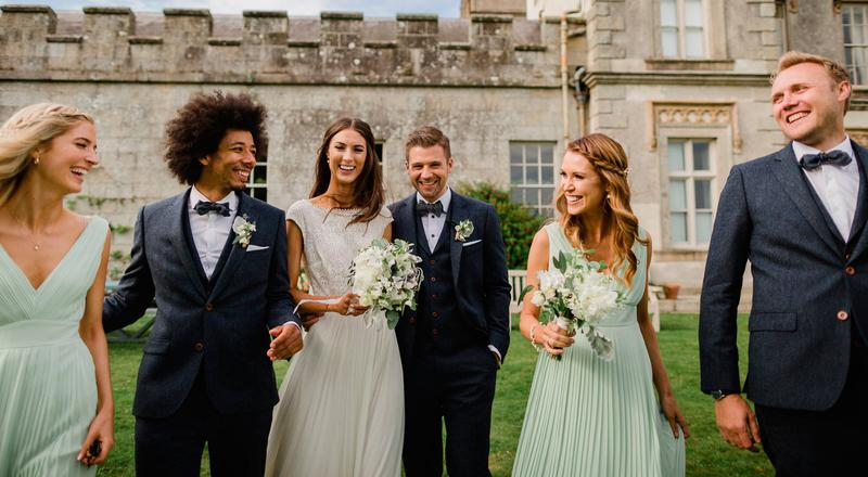 Real irish weddings local celebrity news and videos thevow real weddding fiona and johns big day in beautiful borris house junglespirit Gallery