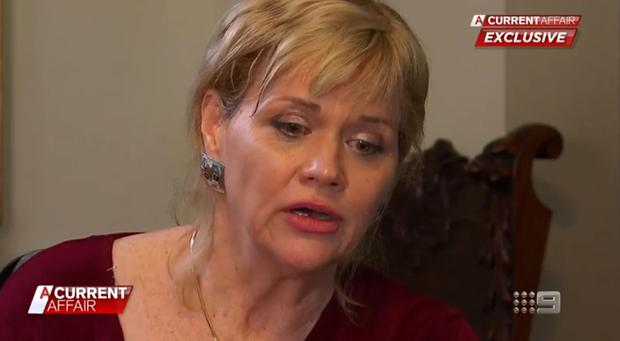 Samantha Markle talks to A Current Affair on the Nine Network in Australia