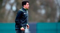 Carbery prefers out-half but excels in the full-back role. Photo: David Fitzgerald/Sportsfile