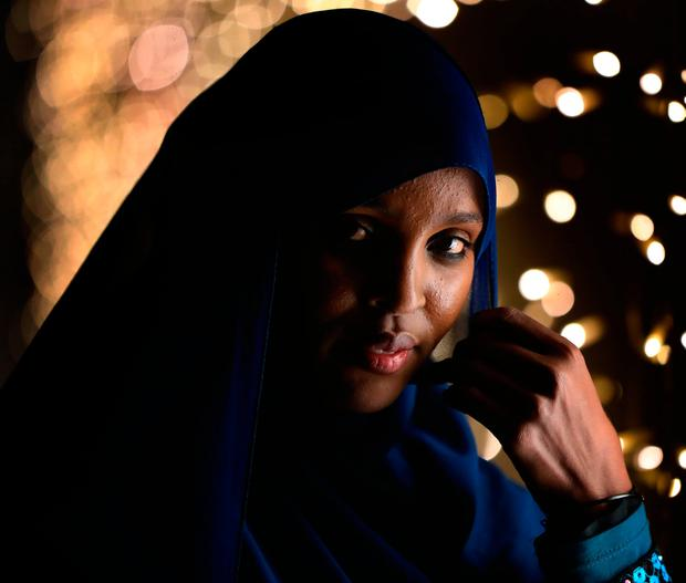 Somali woman Ifrah Ahmed. Photo: Niall Carson/PA