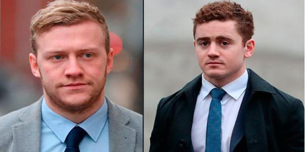 Stuart Olding and Paddy Jackson are accused of raping the woman in June 2016. Both deny the charges.