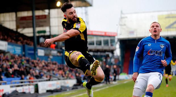 Richie Towell believes he still has plenty to offer despite failing to break into the Brighton first-team. Photo: James Brailsford