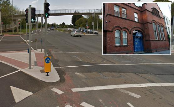 Mairead Doyle (82) died after being struck by a car and inset, Dublin Coroner's Court
