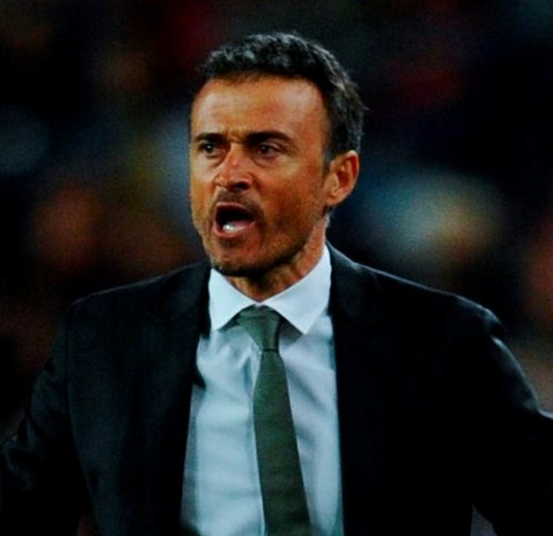 Former Barcelona manager Luis Enrique. Photo: Getty Images