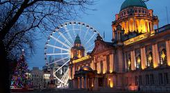 Belfast City Hall. Picture: Getty