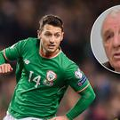 Eamon Dunphy (inset) has heaped praise on Wes Hoolahan