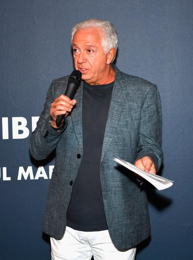 Fashion designer and co-founder of Guess? Inc. Paul Marciano speaks at GUESS Celebrates 35 Years with Opening of Exhibition at the FIDM Museum & Galleries at FIDM Museum & Galleries on the Park on June 5, 2017 in Los Angeles, California. (Photo by Emma McIntyre/Getty Images for GUESS, Inc. )