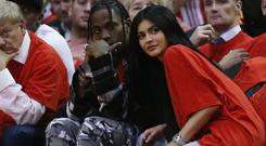 Kylie Jenner and boyfriend Travis Scott