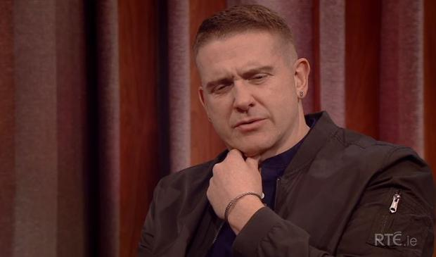 Damien Dempsey on The Tommy Tiernan Show, RTE One.