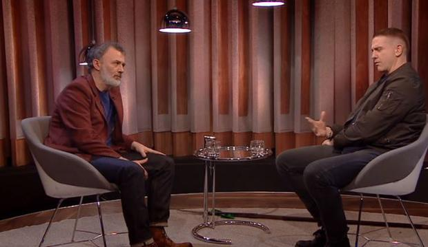 Tommy Tiernan and Damien Dempsey on The Tommy Tiernan Show