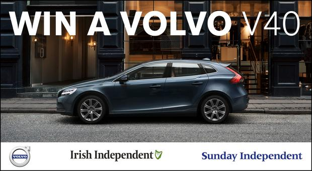 Win a Volvo V40 - Independent.ie