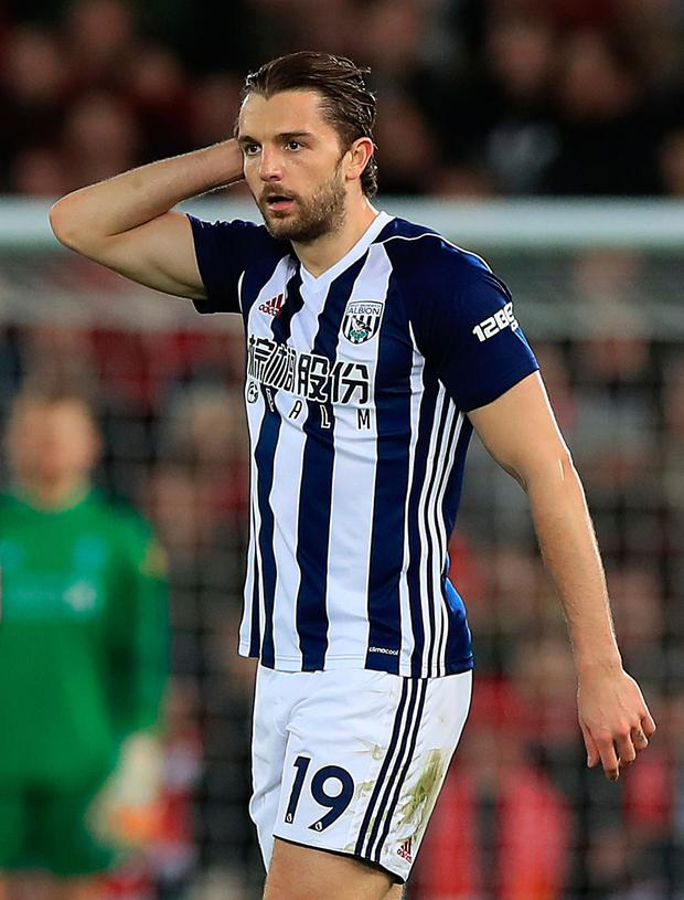 Jay Rodriguez. Photo: PA Wire