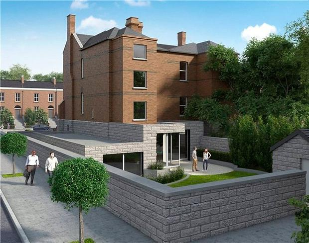 An artist's impression of the planned extension