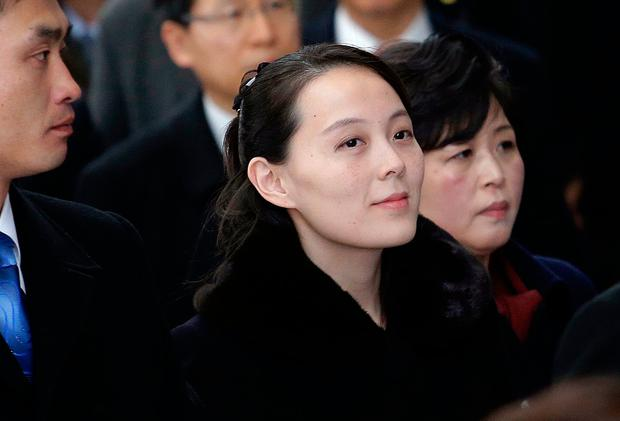 Kim Yo Jong, sister of North Korean leader Kim Jong Un, arrives at the Incheon International Airport in Incheon, South Korea, Friday, Feb. 9, 2018. The sister of the North Korean leader on Friday became the first member of her family to visit South Korea since the 1950-53 Korean War as part of a high-level delegation attending the opening ceremony of the Pyeongchang Winter Olympics. (AP Photo/Ahn Young-joon)