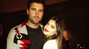 Brody Jenner and half sister Kylie. Picture: Instagram