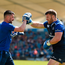 2 May 2016; Leinster's Sean O'Brien takes part in some boxing training with Cillian Reardon, strength & conditioning coach, during squad training at the RDS, Ballsbridge, Dublin. Picture credit: Stephen McCarthy / SPORTSFILE