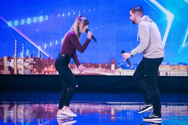 Chris and Marie, Ireland's Got Talent, TV3