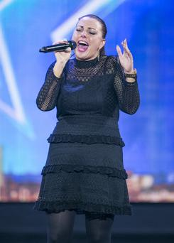 Linda McLoughlan on Ireland's Got Talent