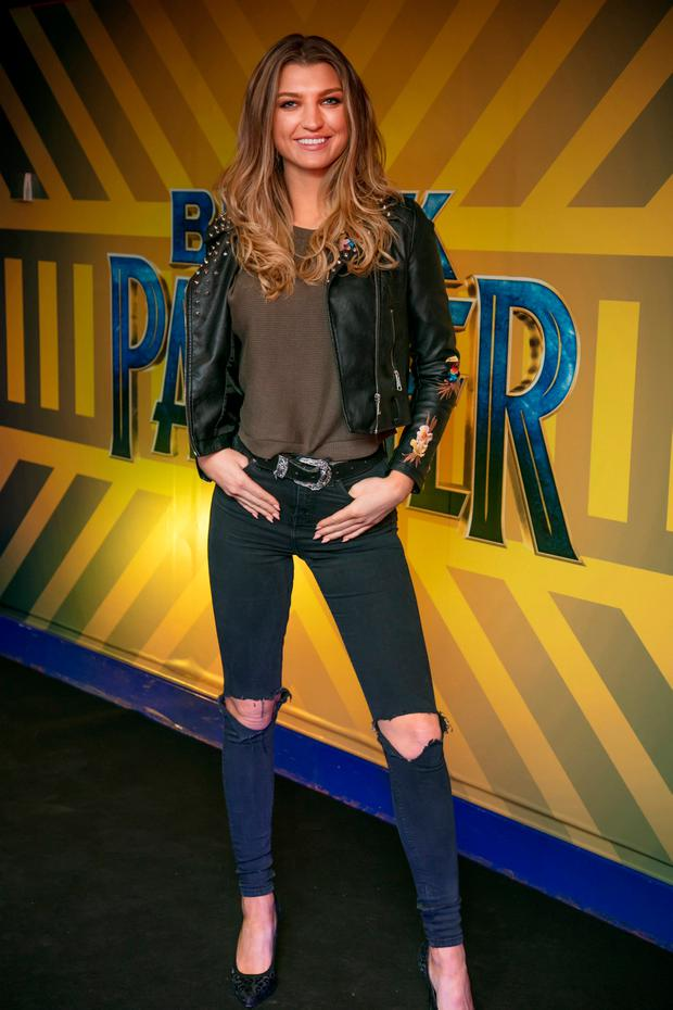 Alannah Beirne at the preview screening of Marvel's Black Panther in Cineworld Parnell Street. Photo: Anthony Woods