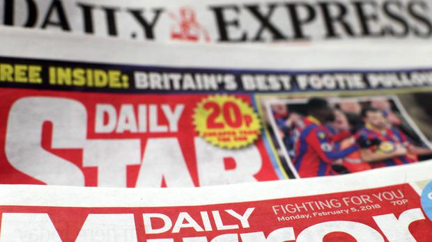 Trinity Mirror has struck a deal to buy media assets including the Daily Express (Yui Mok/PA)