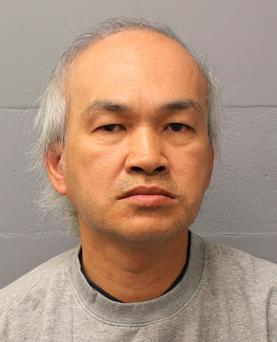 Anh Nhu Nguyen, a serial conman who pretended his family died in the Grenfell Tower fire to obtain about £12,500 meant for the victims, who is due to be sentenced on Friday Photo: Metropolitan Police/PA Wire