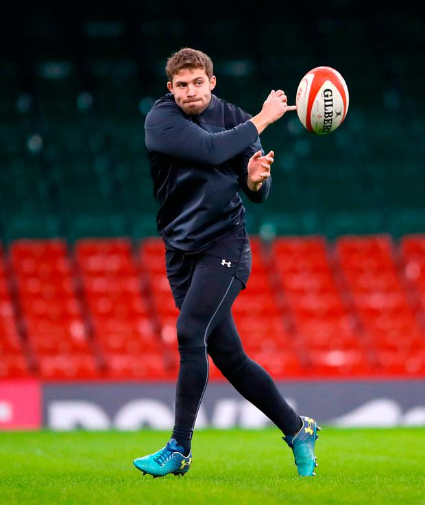 Wales' Leigh Halfpenny. Photo: PA