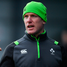 Paul O'Connell is enjoying his new role with the Ireland U20s. Photo: Sportsfile