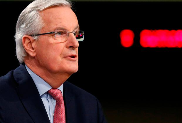 European Union's chief Brexit negotiator Michel Barnier Picture: REUTERS/Francois Lenoir