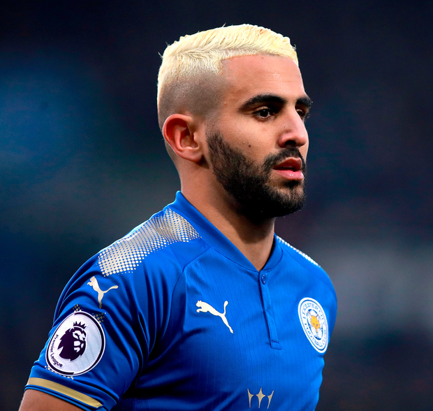 Leicester City's Riyad Mahrez. Photo: PA