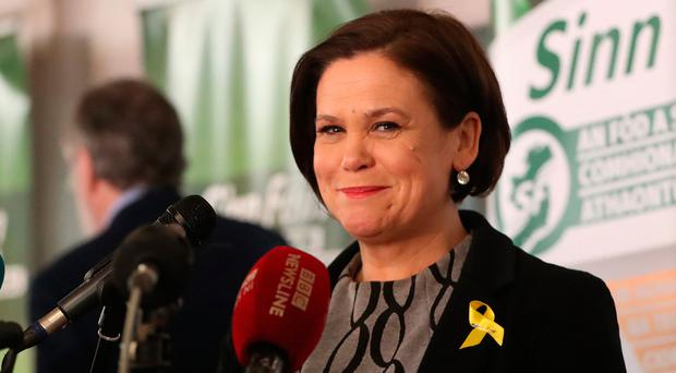Office politics: Mary Lou McDonald faces a tough task. Photo: PA
