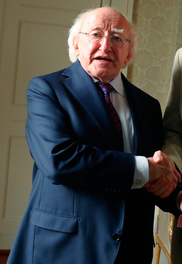 President Michael D Higgins. Photo: Maxwells