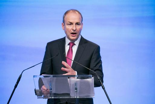 Damaging: FF leader Micheal Martin condemned Scientology